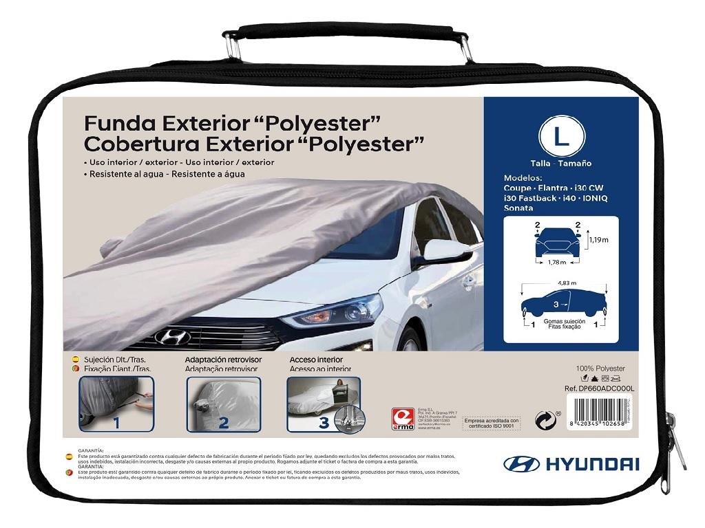 Compatible Con Hyundai I30 Fastback De Protecci/ón Solar Cubierta Del Coche For Evitar La Congelaci/ón Y Da/ños Por Granizo For Cualquier Estaci/ón Impermeable Y Transpirable Y Protec Funda Coche LXJJGF