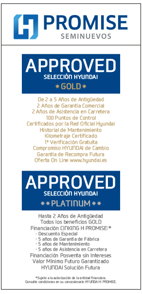 Approved Gold y Platinum