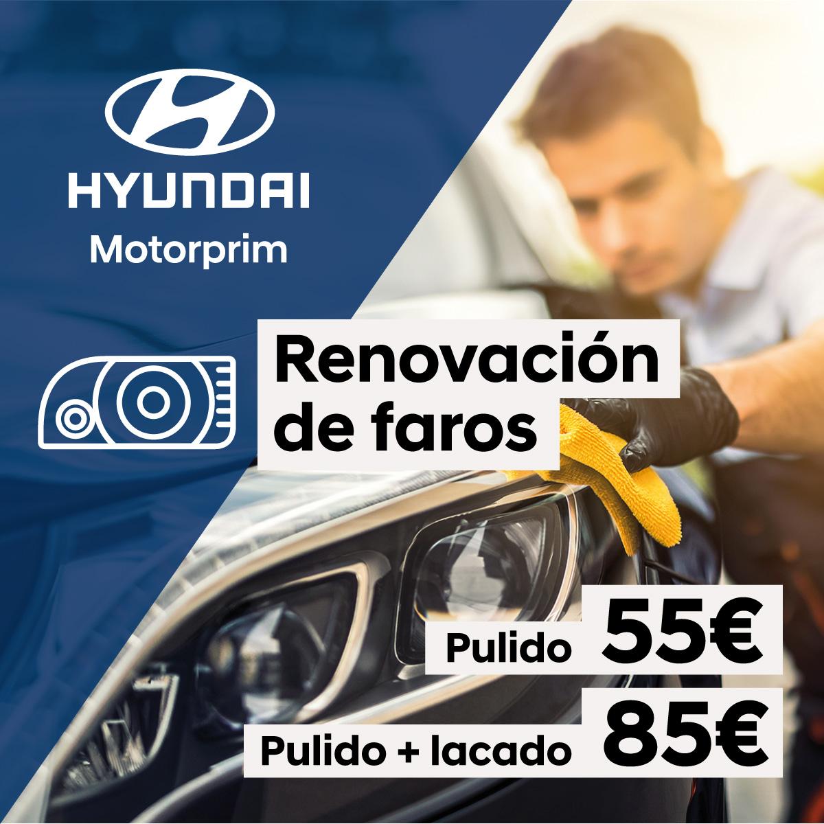 ¡Renueva los faros de tu vehículo por solo 55 euros!