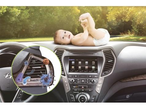 Mantén tu vehículo libre de particulas