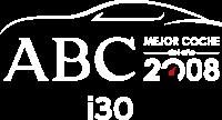 Logo Coche del Año ABC 2008