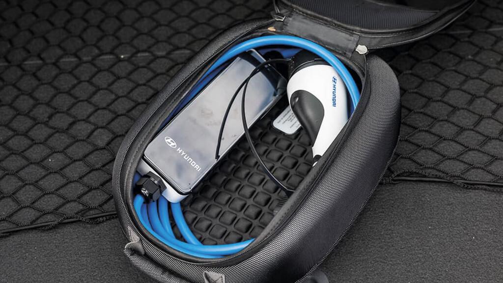 Cargador Hyundai coche eléctrico